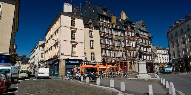 Ренн. Как добраться до Ренна из Парижа. Франция