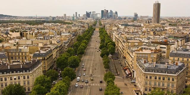 Маршрут «Две арки» (часть 2). Париж. Франция