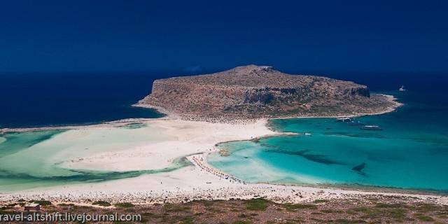 Бухта Балос и пляж Элафониси. Крит