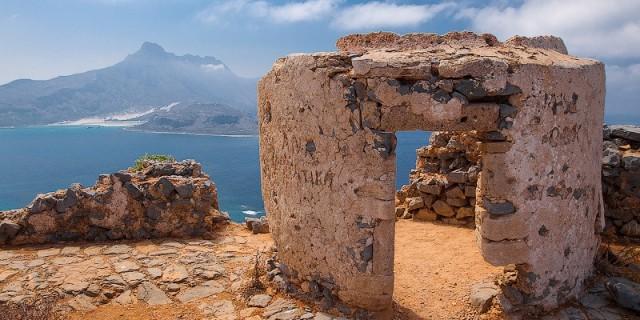 Остров Грамвуса и бухта Балос. Крит