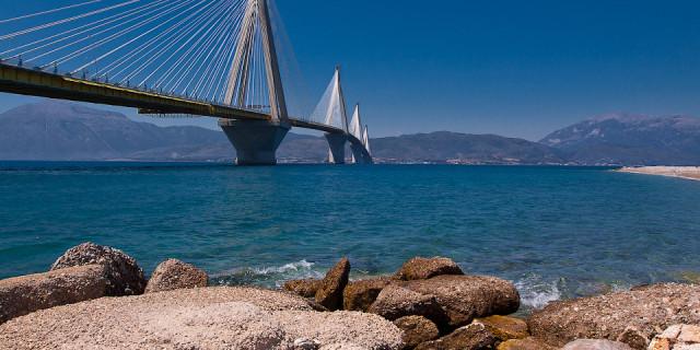 Мост Рио-Антирио, мини-трекинг. Пелопоннес