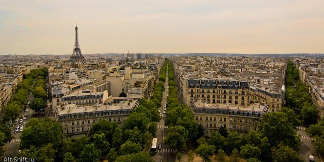 Три дороги Парижа