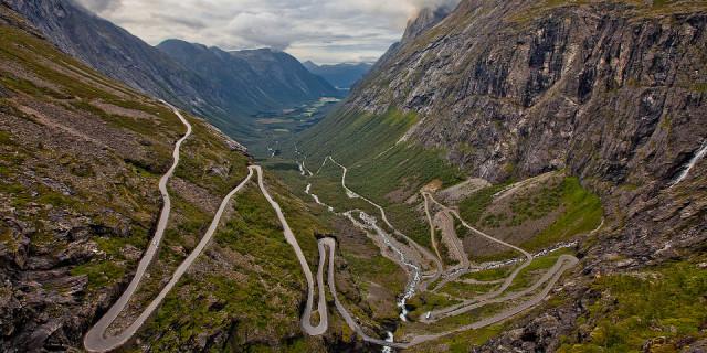 Дорога троллей. Норвегия
