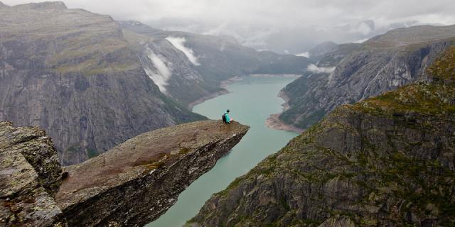 Язык тролля (Trolltunga). Норвегия
