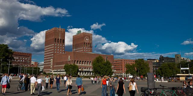 Осло — солнечный город. Норвегия