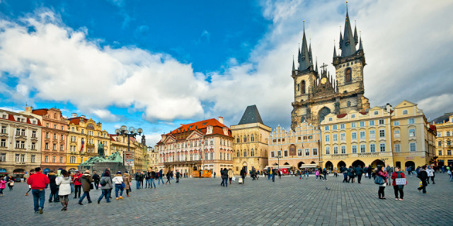 Старый город (Старе-место). Прага. Часть 2. Чехия