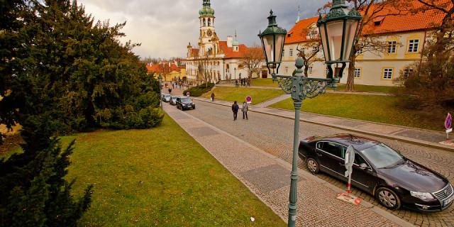 Градчаны и Новый Свет. Прага. Чехия