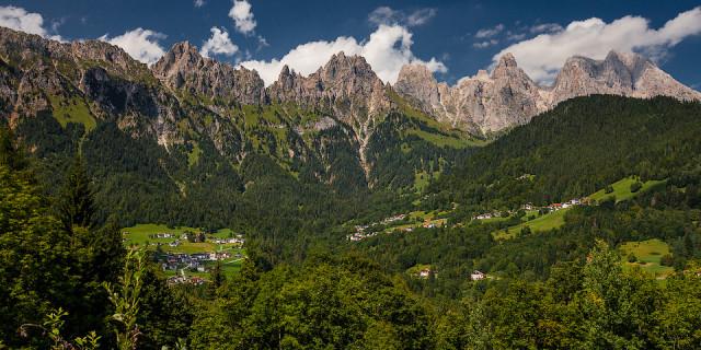 Доломитовые Альпы (часть 1). Италия