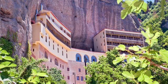 Монастырь Мега Спилео. Пелопоннес