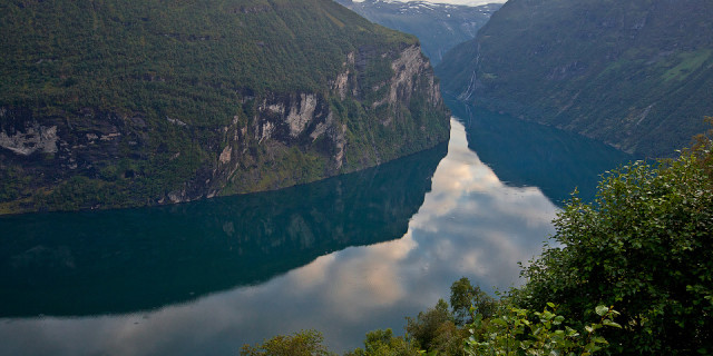 Гейрангерфьорд. Норвегия