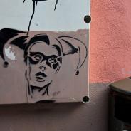Таллин в деталях. Граффити на стенах Старого города Таллина